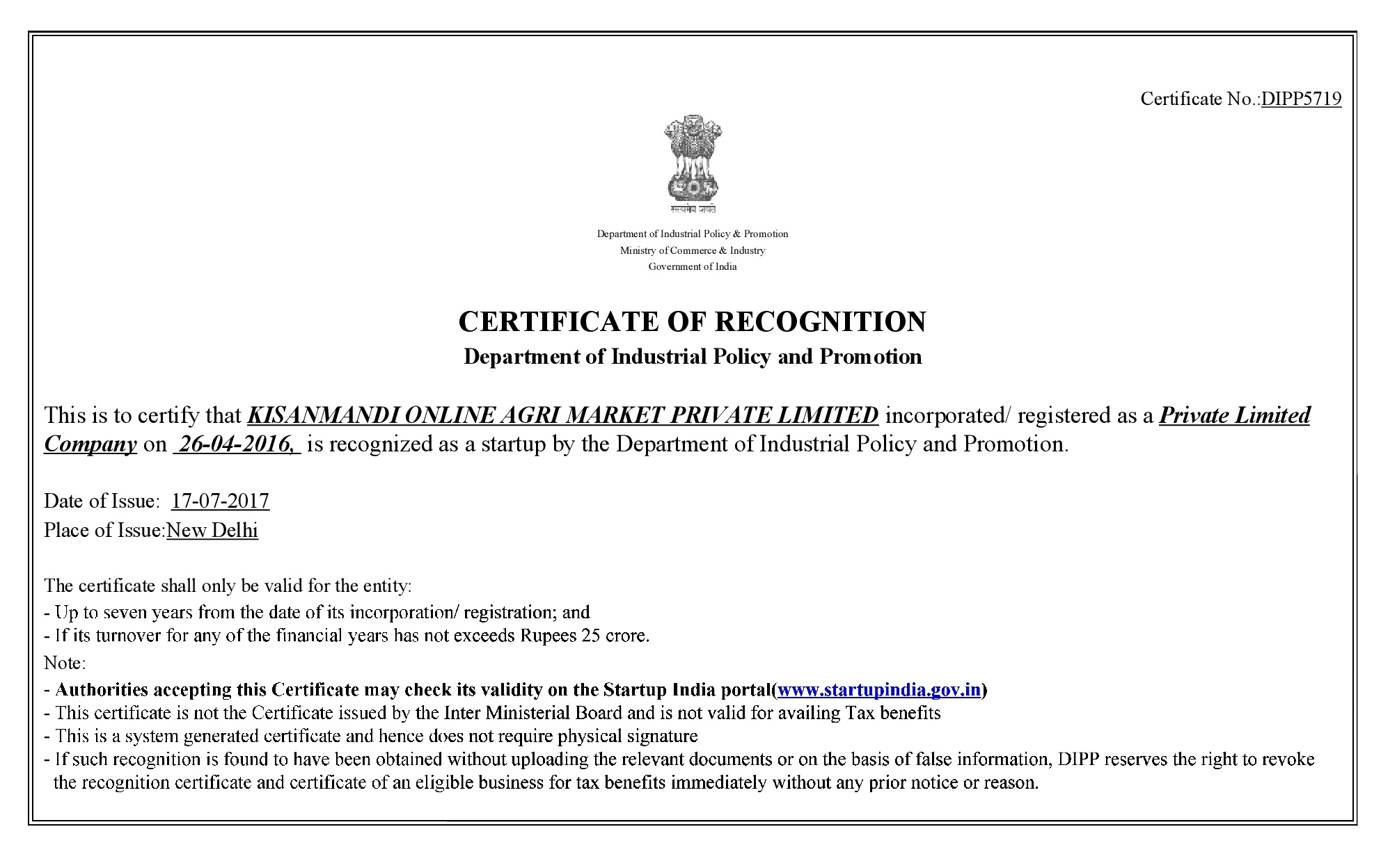 Kisan Mandi- Online Agri Market India